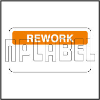140382 Quality Control Sticker - Rework