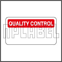 140385 Quality Control Stickers