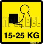 140543 15-25 KG Sticker