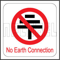 140642 No Earth Connection Labels
