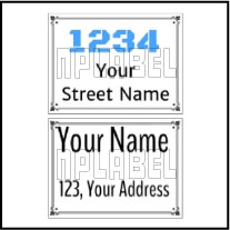 142714 Customize Name Plate
