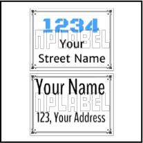 142714 Customize Name Plate