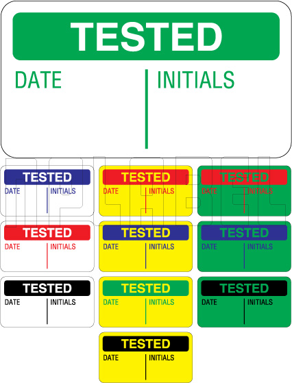 151413 Tested Stickers & Labels