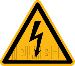 151422 Electrical Mains Sign Label