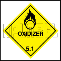 160046 OXIDIZER Sign Stickers
