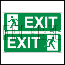 160057 Exit Sign Name Plates