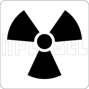 16009& X-Ray Radiation Warning Labels