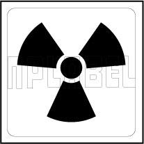 16009& X-Ray Radiation Warning Labels