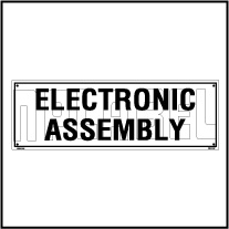 160113 Electronic Assembly Name Plates