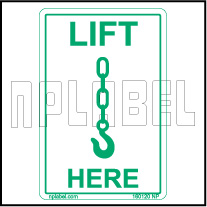 160120 Lift Here Labels & Stickers
