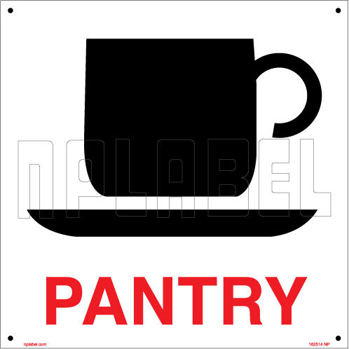 162514 PANTRY Sign Board