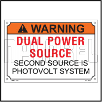 162519 Customize Dual Power Source Warning Labels