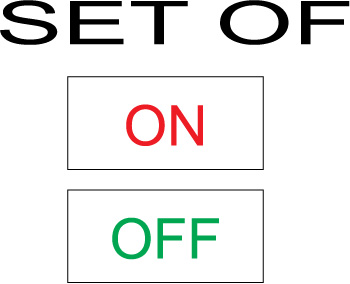 162549 ON-OFF Labels