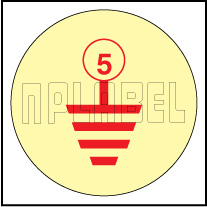 162550RY Earthing Labels