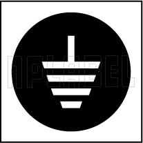 162562SB Earthing Metal Labels