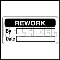 420039 Rework Sticker