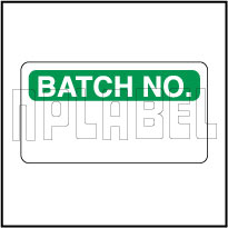 570642 Batch No. Stickers & Labels