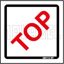 582113 Shipping Label - Top Side Sticker
