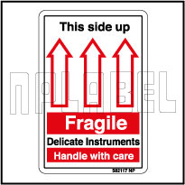 582117 Fragile Shipping Stickers & Labels