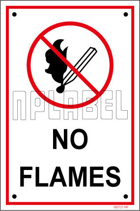 582721ML No Flames Name Plates