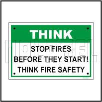 592215 Safety First Signage Sticker