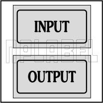 940131 Panel Sticker Input-Output