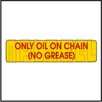 940264 Only Oil On Chain Sticker