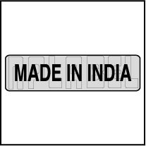 940565 Made In India Sticker Labels