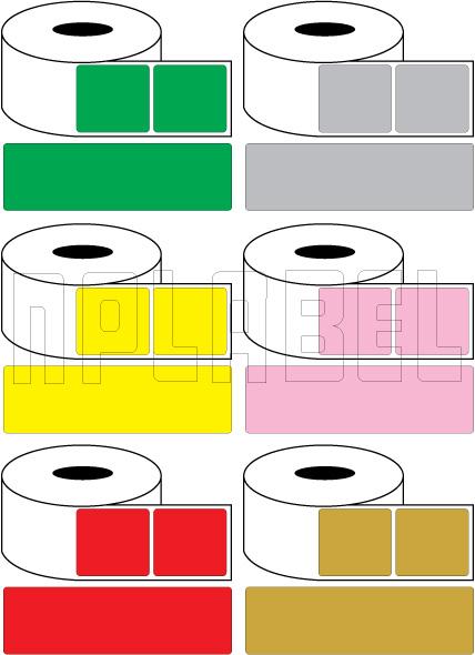 Color Barcode Labels - Across 1 (Width 50mm+)
