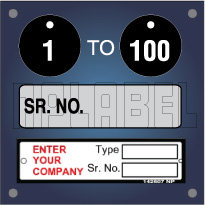 Serial Number Tags & Labels