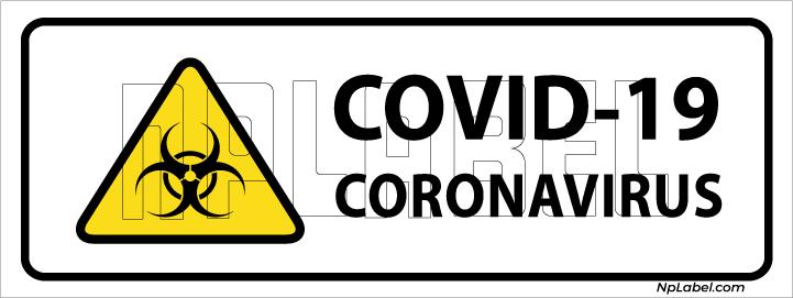 CD1919  COVID19 Coronavirus Signages