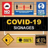 COVID19 Signages