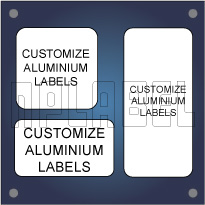 Customize Square / Rectangular Metal Labels