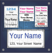 Customize Name Plates for Home & Office Buildings