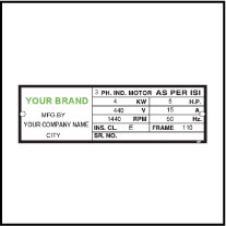 Data Label Template Data 005