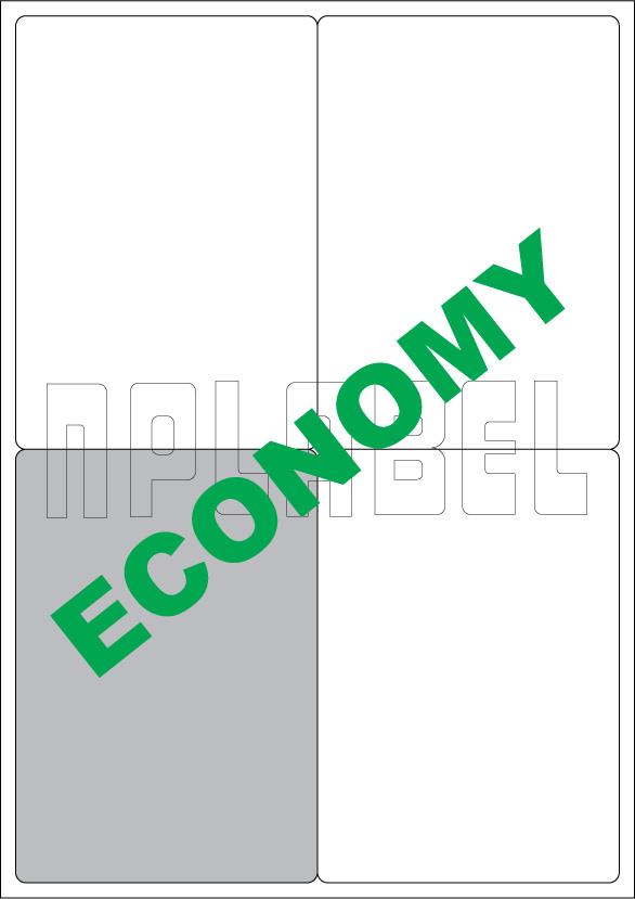EC2004 Multipurpose A4 Label Sheets
