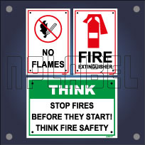 Fire Safety Signage Name Plates