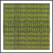 HG0007 Made in India Sticker