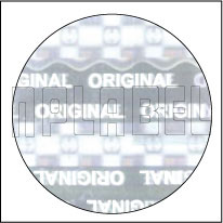 HG0013 Genuine Hologram Sticker