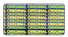 HG0018 Original Hologram Sticker