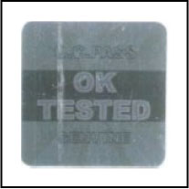 HG0021 OK Tested - QC Passed Hologram