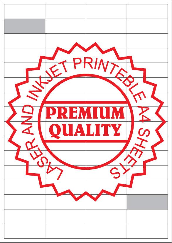 IL4064M Multipurpose Sticker A4 Sheets