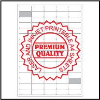 IL5080 Multi-Purpose Sticker Labels A4 Sheets