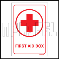 K10050 First Aid Sign Sticker