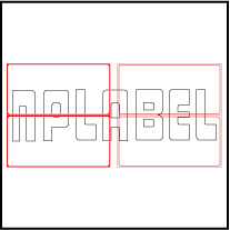 ML15075 General Purpose Sticker Size 150x75mm