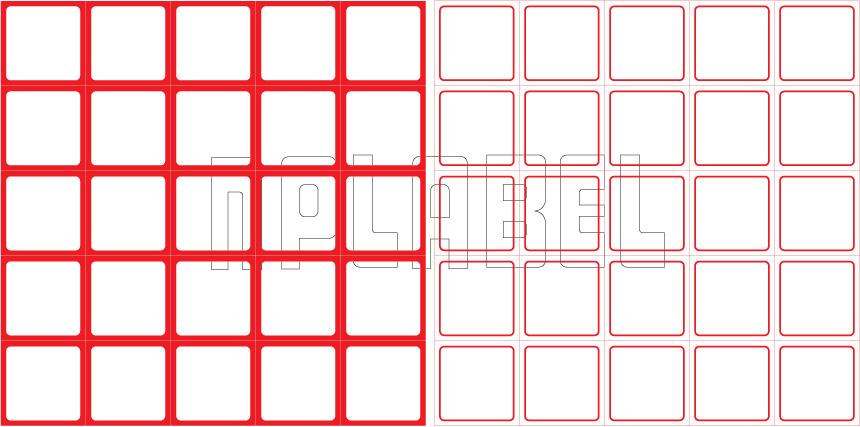 ML3030 General Purpose Sticker Size 30x30mm