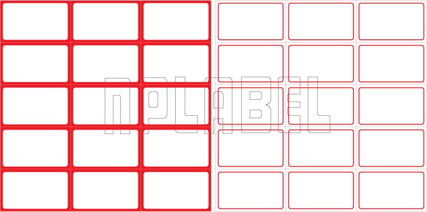 ML5030 General Purpose Sticker Size 50x30mm