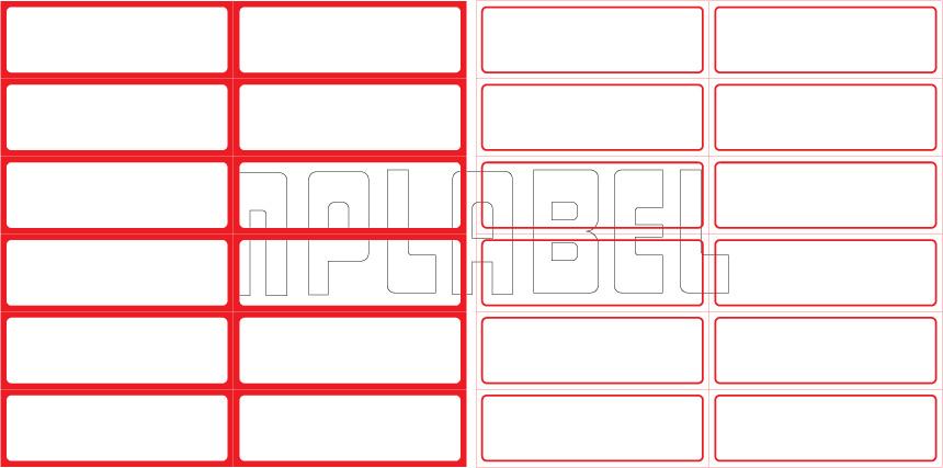 ML7525 General Purpose Sticker Size 75x25mm