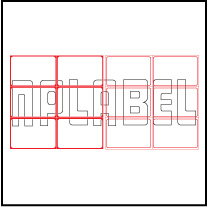 ML7550 General Purpose Sticker Size 75x50mm
