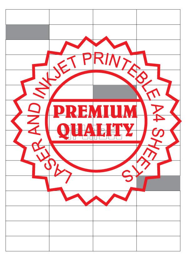 Multipurpose Sticker A4 Sheets IL4064
